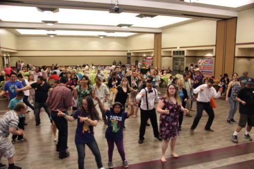 We love to dance!