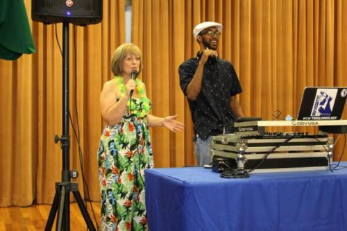 Diane and DJ Chuck