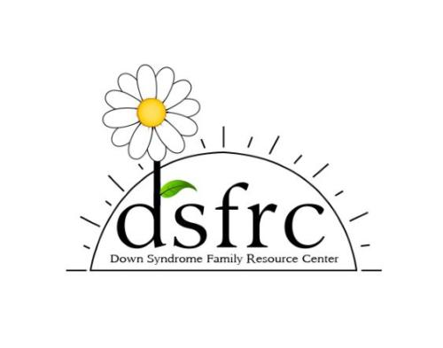 Digital logo with leaf DSFRC