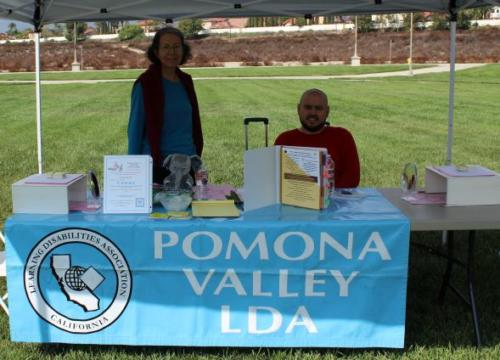 Thank You Pomona Valley/Inland Learning Disabilities Association