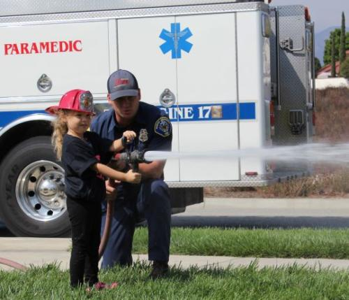 Thank You to the Fire Department!