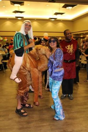 A Camel and a Hippy walk into a dance...
