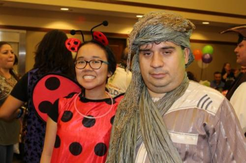 What do a ladybug and Aladdin have in common? Fun!