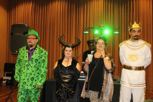 Four of our Costume Contestants