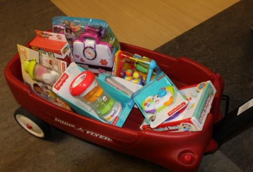 Special Angels Toy Drive at Kaiser