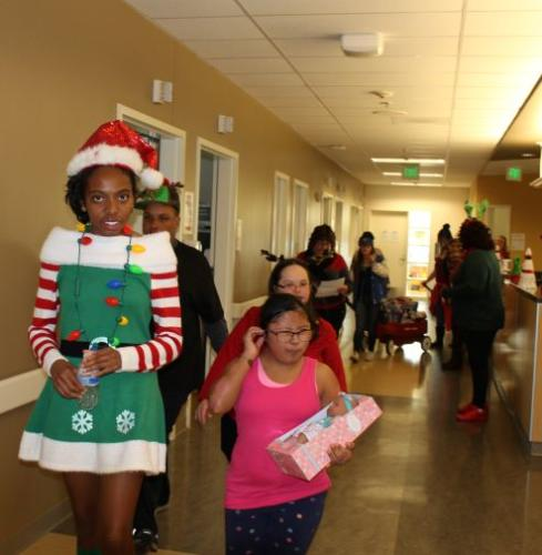 Delivering Toys to Kids in the Hospital