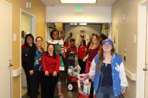 Special Angels Toy Drive Volunteers